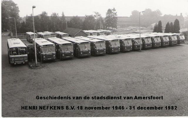 Garage Nefkens Amersfoort : Autobusbedrijf henri nefkens amersfoort 1946 1982